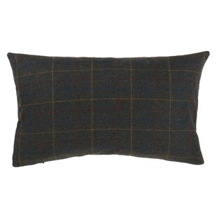 Premont Plaid Design Lumbar Pillow