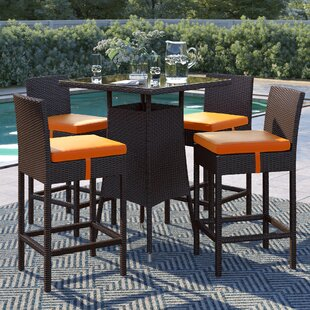 Brentwood 5 Piece Bar Height Dining Set