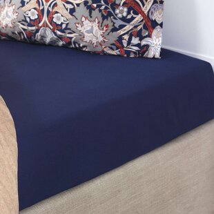 Sunglow 220 Thread Count 100% Cotton Fitted Sheet