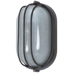Clearance Chante Modern 1-Light Outdoor Bulkhead Light By Williston Forge