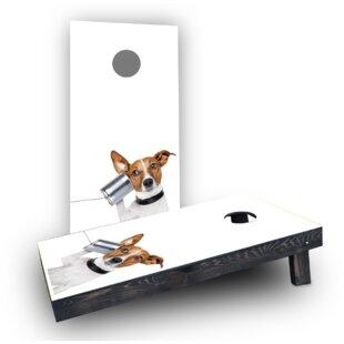 Custom Cornhole Boards Dog..