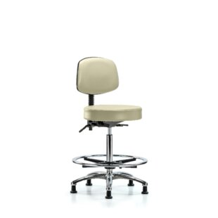 Micah High Bench Height Adjustable Lab Stool