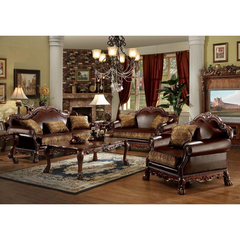 Fleur De Lis Living Tobin Configurable Living Room Set Reviews Wayfair Ca