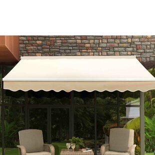 Classic 10 ft. W x 9 ft. D Patio Awning b..