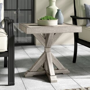 Buff Aluminum Side Table by Greyleigh Great Reviews