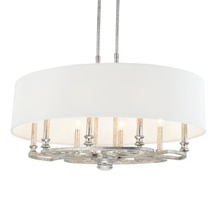 Newman 8-Light Drum Chandelier