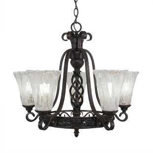 Astoria Grand Pierro 5-Light Shaded Chand..