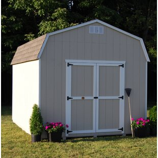 Little Cottage Company Value Gambrel Barn Precut Kit Solid Wood Storage Shed