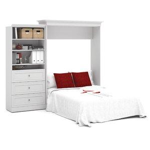 Acevedo Queen Wood Murphy Bed by Latitude Run