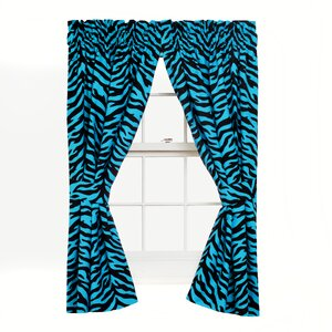 Zebra Curtain Panels (Set of 2)
