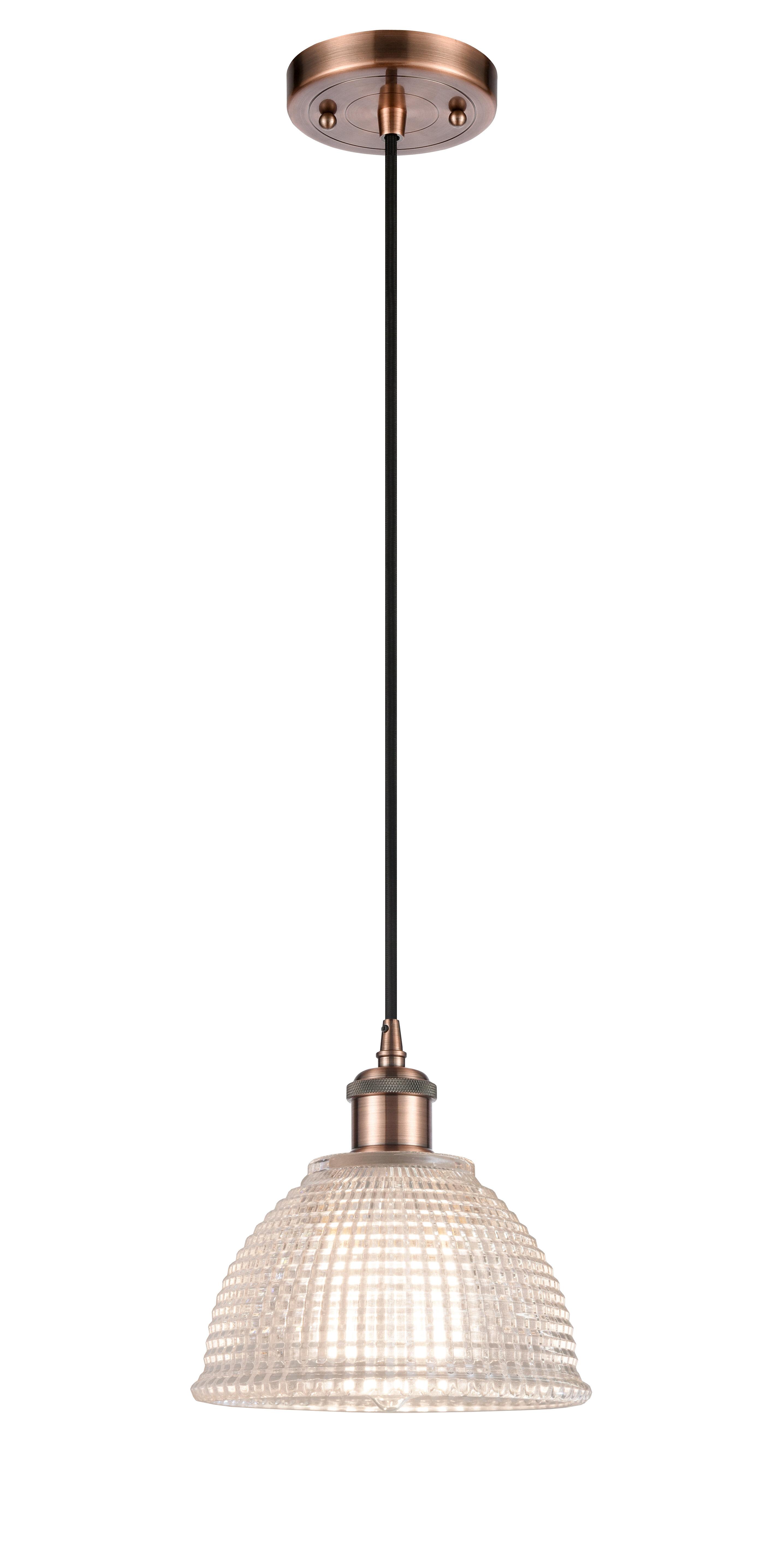 Rosecliff Heights Efrain 1 Light Single Bell Pendant Wayfair