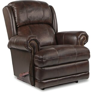La-Z-Boy Kirkwood Leather Manual Rocker Recliner