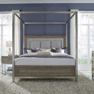 Gracie Oaks Gwyneth Canopy Bed