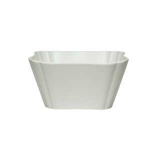 Pinpoint White 24 oz. Fruit/Cereal Bowl (Set of 4)