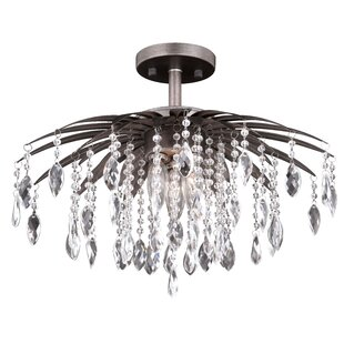 House of Hampton Eastlake 5-Light Semi Flush Mount