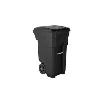Toter Bear Resistant Heavy Duty Two Wheeled Curbside Trash
