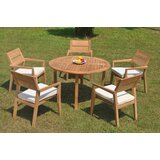 Retiro 6 Piece Teak Dining Set