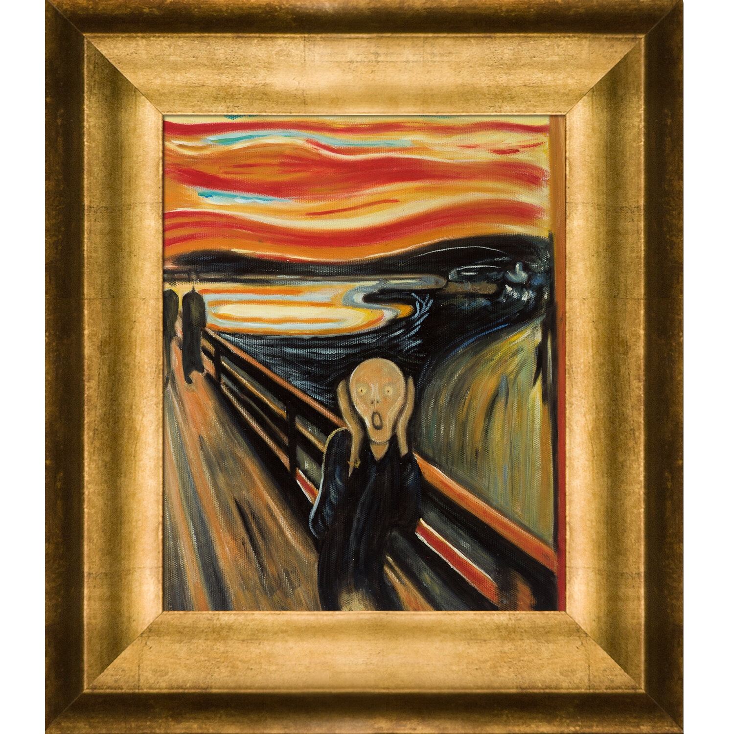 Edvard Munch The Day After Giclee Canvas Print repro