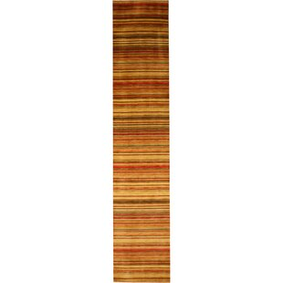 Kovvur Hand-Woven Red Area Rug by Meridian Rugmakers