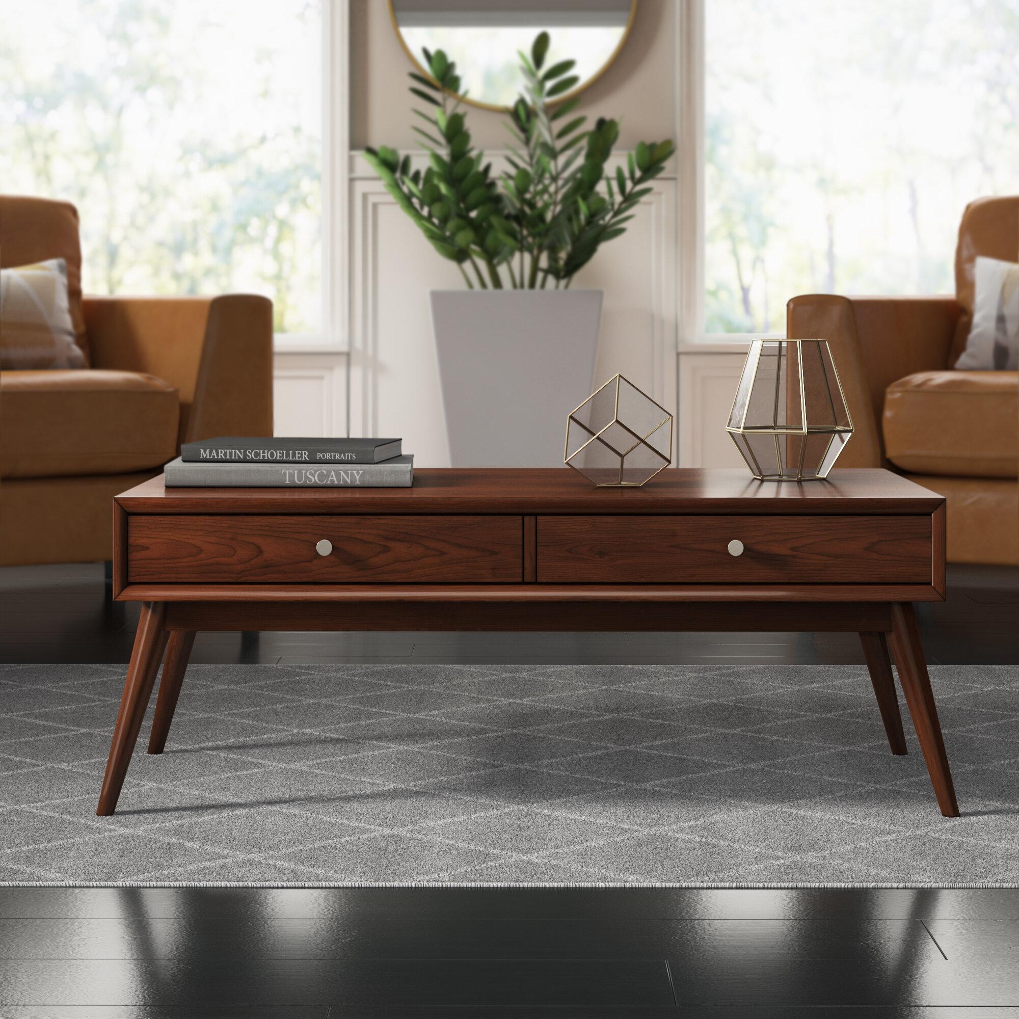 Mercury Row Norberg Coffee Table With Storage Reviews Wayfair
