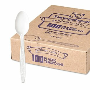 Company Guildware Heavyweight Disposable Teaspoons