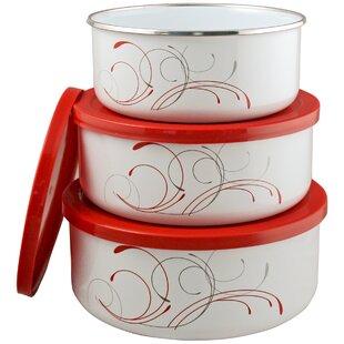 Corelle Coordinates 3 Container Food Storage Set