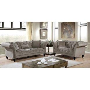 Kaihn 2-Piece Living Room Set by Rosdorf Park