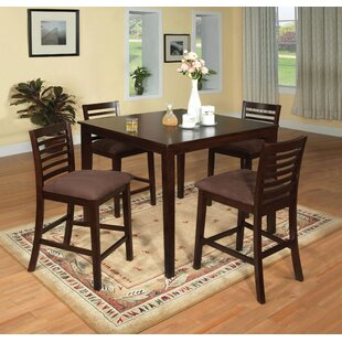 Elkins Park 5 Piece Dining Set Red Barrel Studio