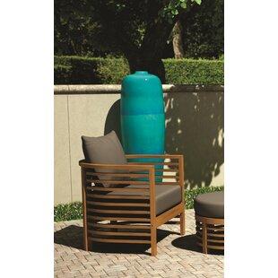 Seasonal Living Teak Patio Chair with Cus..