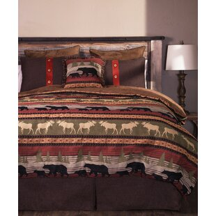Loon Peak Hibbell 5 Piece Comforter Set