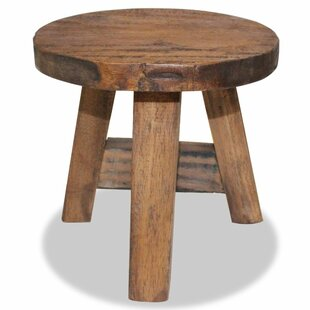 Best Solid Reclaimed Wood Stool By Alpen Home