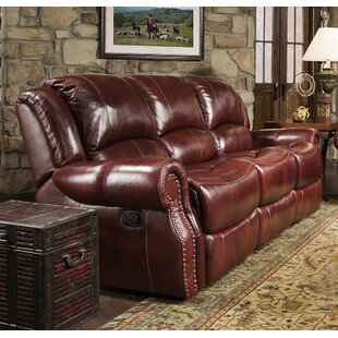 Additri Leather Reclining Sofa