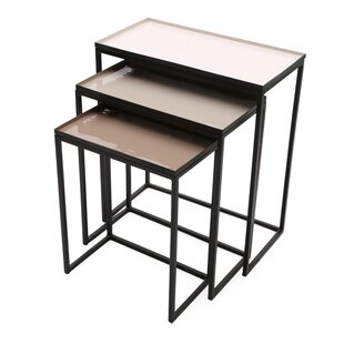 Graywolf Nesting Tables, Set of 3 by Foreign Affairs Home Decor
