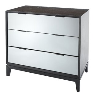 Ellendale 3 Drawer Chest By Ebern Designs