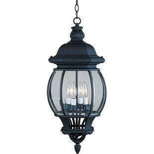 Charlton Home Didcot 4 Light Outdoor Hanging Lantern