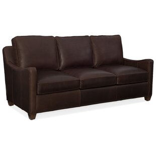 Dalton Leather Sofa by Bradington-Young