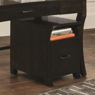 Red Barrel Studio Garner-Ellerbee Elegant 1-Drawer Vertical Filing Cabinet