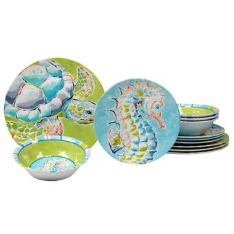 Deep ocean plates A set of 2