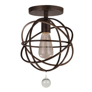 Gregoire1Light Semi Flush Mount by Willa Arlo Interiors