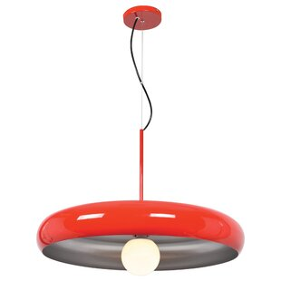 Wrought Studio Geib 1-Light Drum Pendant