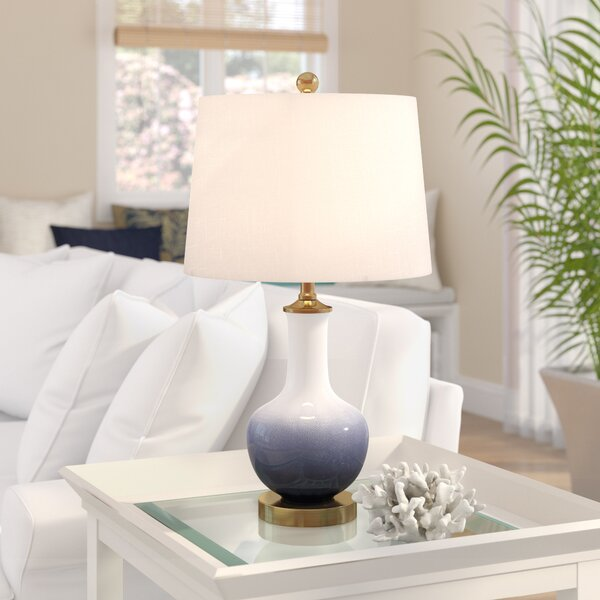 Highland Dunes Halley Ceramic 25 Table Lamp Reviews Wayfair