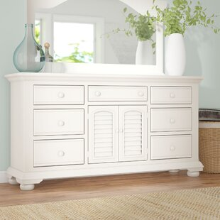 Lark Manor Montcerf 7 Drawer Wood Dresser