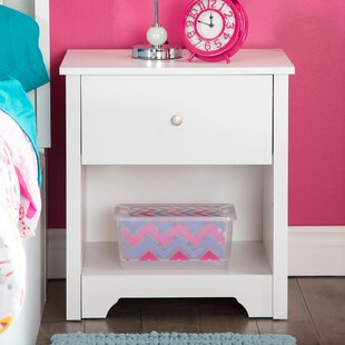 Olympia 1 Drawer Nightstand by Andover Mills