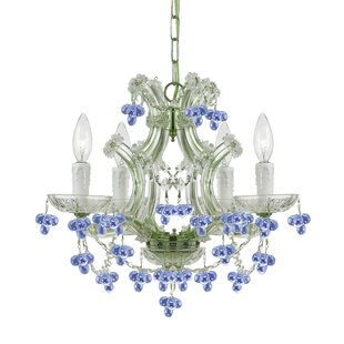 Griffiths 4-Light Candle Style Chandelier by House of Hampton