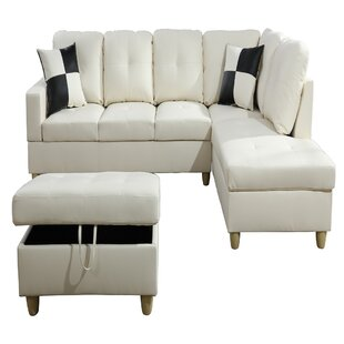 Georgiy Roy 32'' Right Hand Facing Sectional With Ottoman By Latitude Run