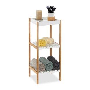 30 X 72cm Free Standing Bathroom Shelf