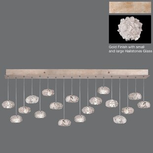Natural Inspirations Drop 18-Light Cluster Pendant by Fine Art Lamps