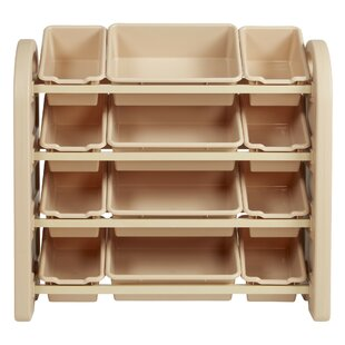 Shop for 12 Compartment Cubby with Bins By ECR4kids