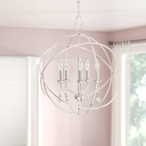 Auberta 5-Light Globe Pendant