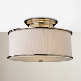 Governors 2-Light Semi Flush Mount by Red Barrel Studio